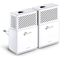 TP-Link TL-PA7010 KIT Powerline Adapter (1000 Mbit/s Powerline, 1x Gigabit Port, Plug & Play, energiesparend, kompatibel zu allen gängigen Powerline Adaptern) weiß
