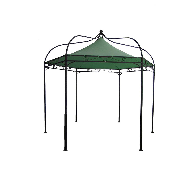 Gartenmoebel Pavillon Modena Ersatzdach grün Polyester PVC-beschichtet Gartenpavillon Pavillonersatzdach Pavillonzubehör