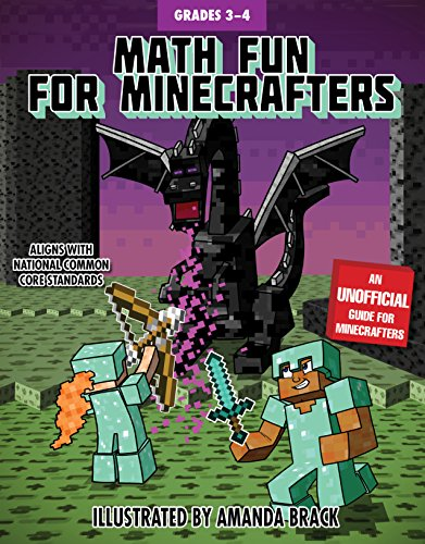 Math Fun for Minecrafters: Grades 3–4 (Math for Minecrafters)