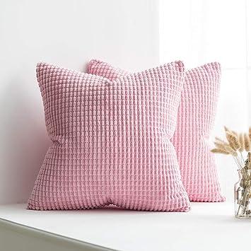 Amazon.com: MIULEE - Funda de cojín decorativa de lujo para ...