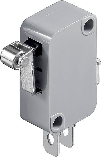 1 polig Goobay 10185 Mikroschalter Wechselschalter