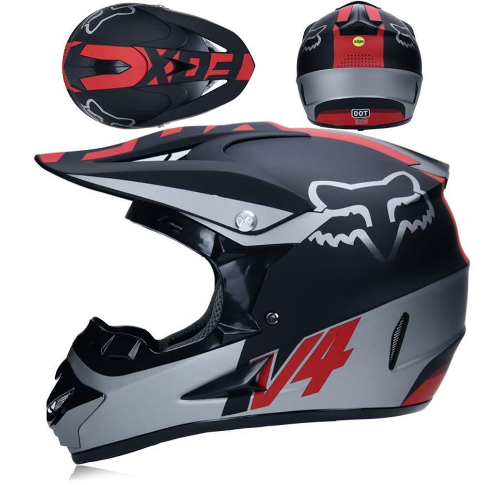 AMCYT Downhill Gel/ändemotorrad Mountainbike Vollhelm Reithelm Vollhelm Gel/ändemotorrad
