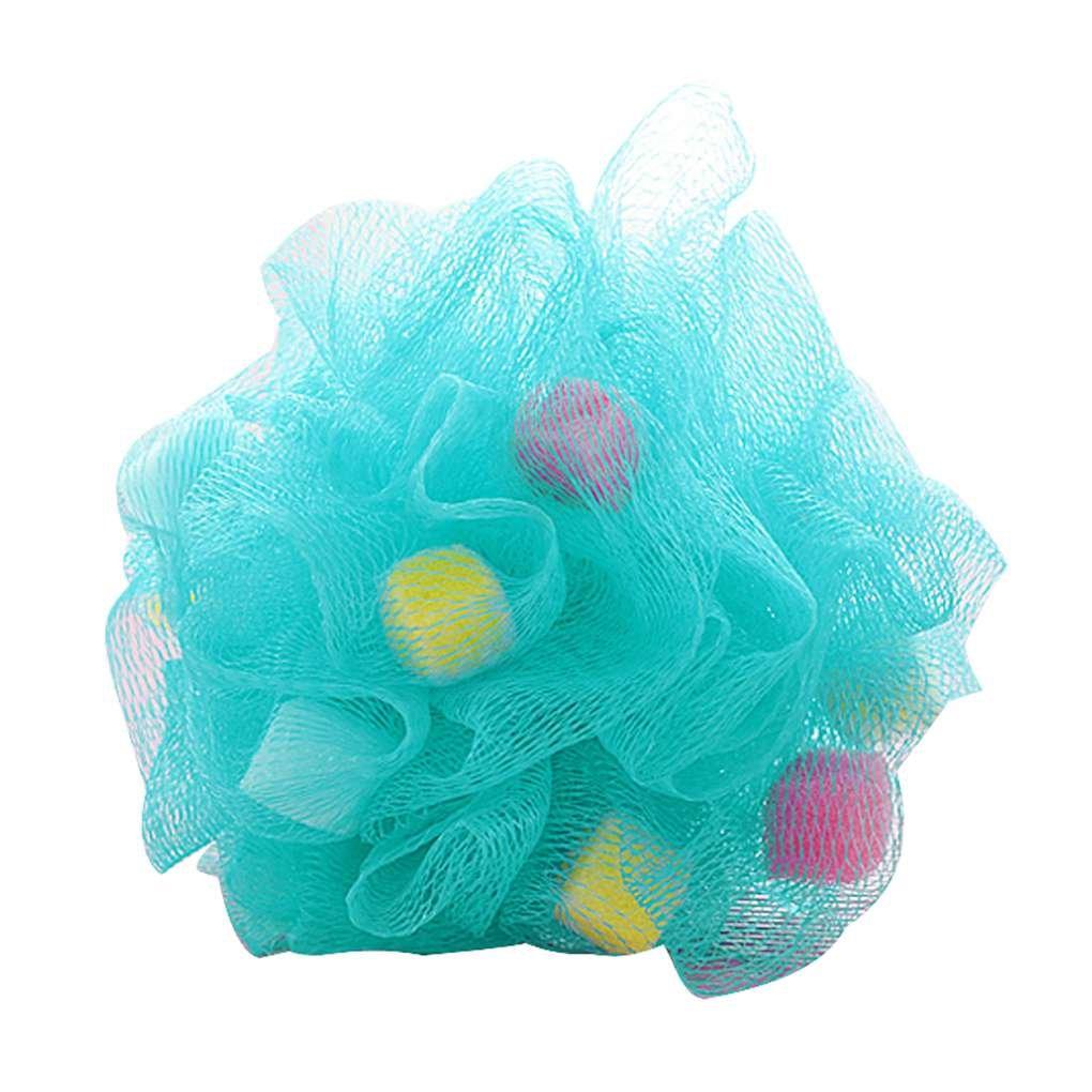 Morza Bunte Badezimmer-Körper-Puff Mop Dusche Kugel Weichen Schwamm Bubbles Körper Reinigung Waschen Schäumende Ineinander Greifen-Netz Luffa