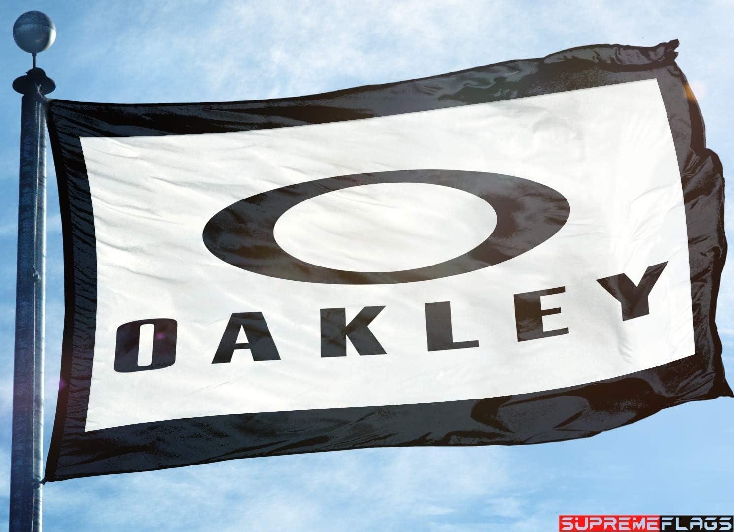 Brand New Oakley Flaggenbanner Für Sonnenbrillen 91 X 152 Cm Sport Freizeit