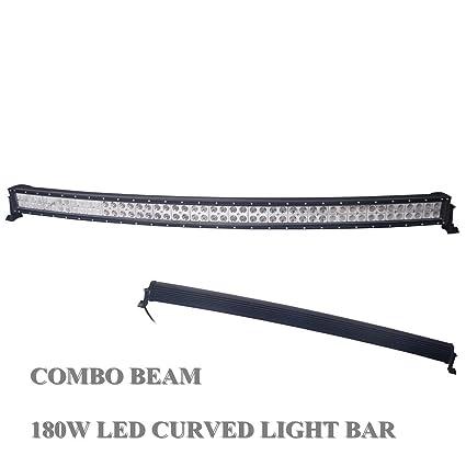 LED LIGHT BAR KIT 50INCH 288W LED WORK LIGHT BAR SPOT FLOOD COMBO OFFROAD