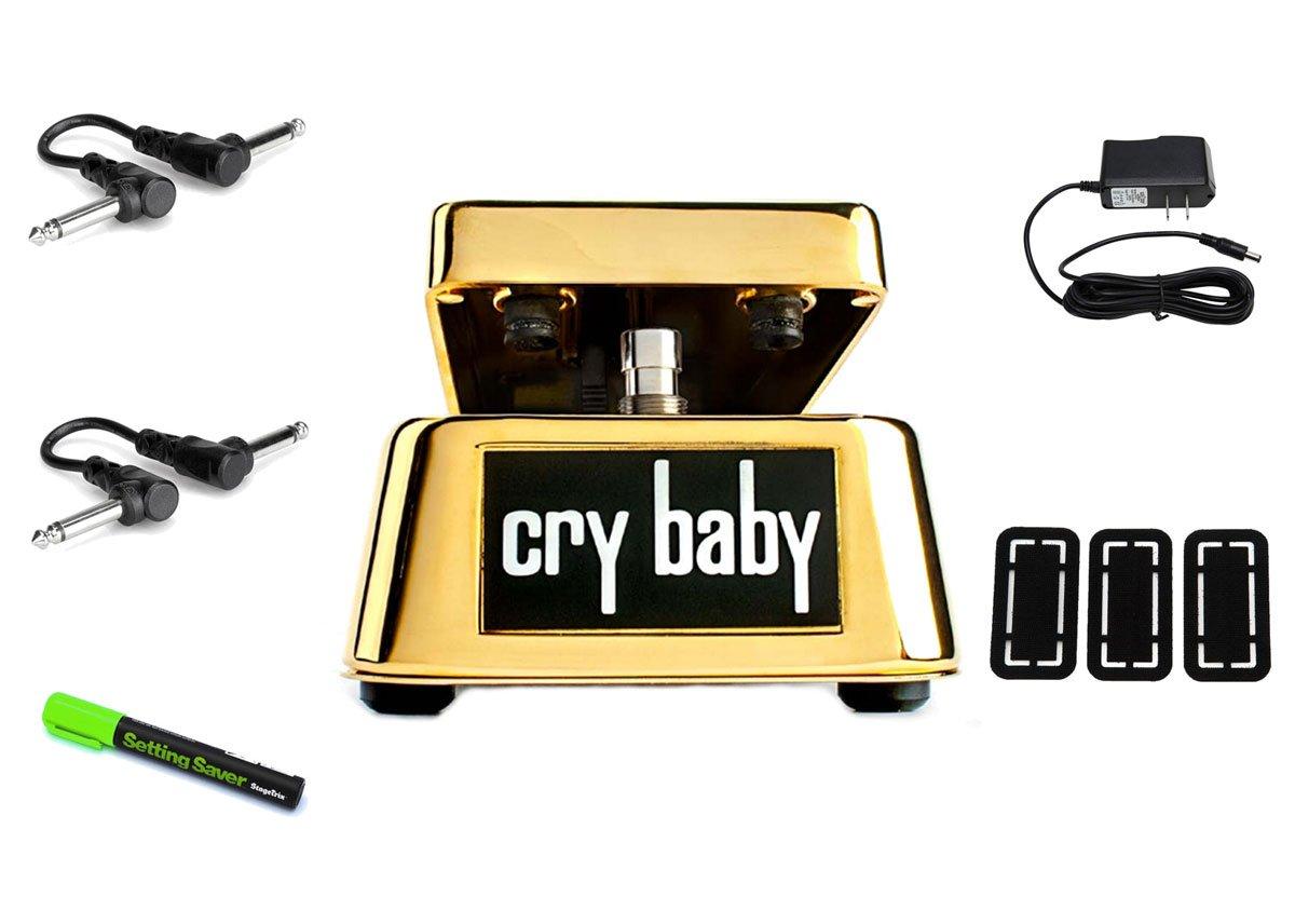 MXR GCB95G 50th Anniversary Gold Cry Baby Wah PRYMAXE PEDAL BUNDLE
