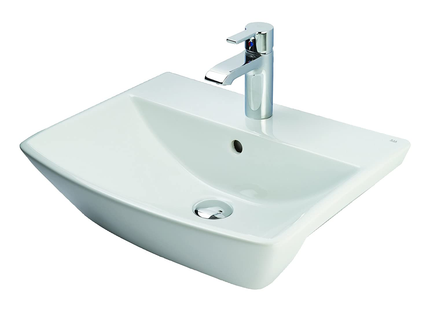 Rak Ceramics SUM50SR1 50 cm Summi Semi Recessed Basin 1th