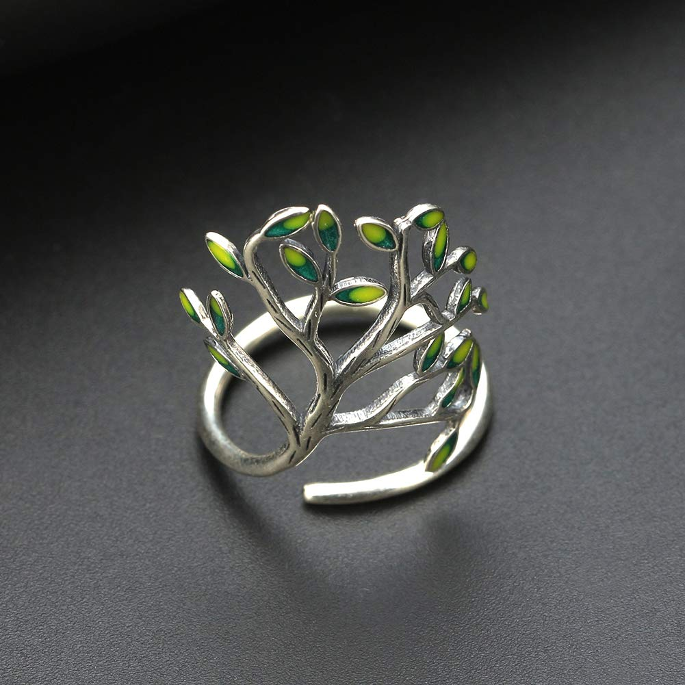 Tree of Life Leaf Branch Wrap Ring Ginger Lyne Luxury Collection