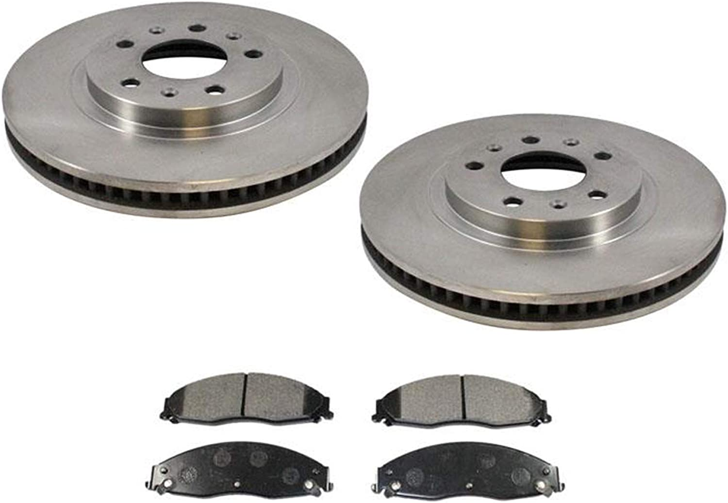See Desc. Rotors Metallic Pads R OE Replacement 2010 Cadillac CTS