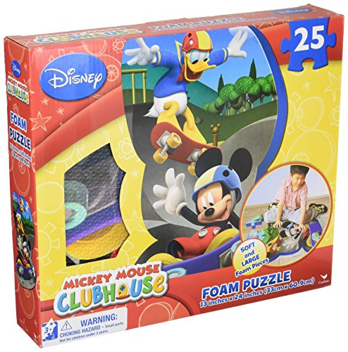 (Mickey Foam Puzzle Mat Boxed)