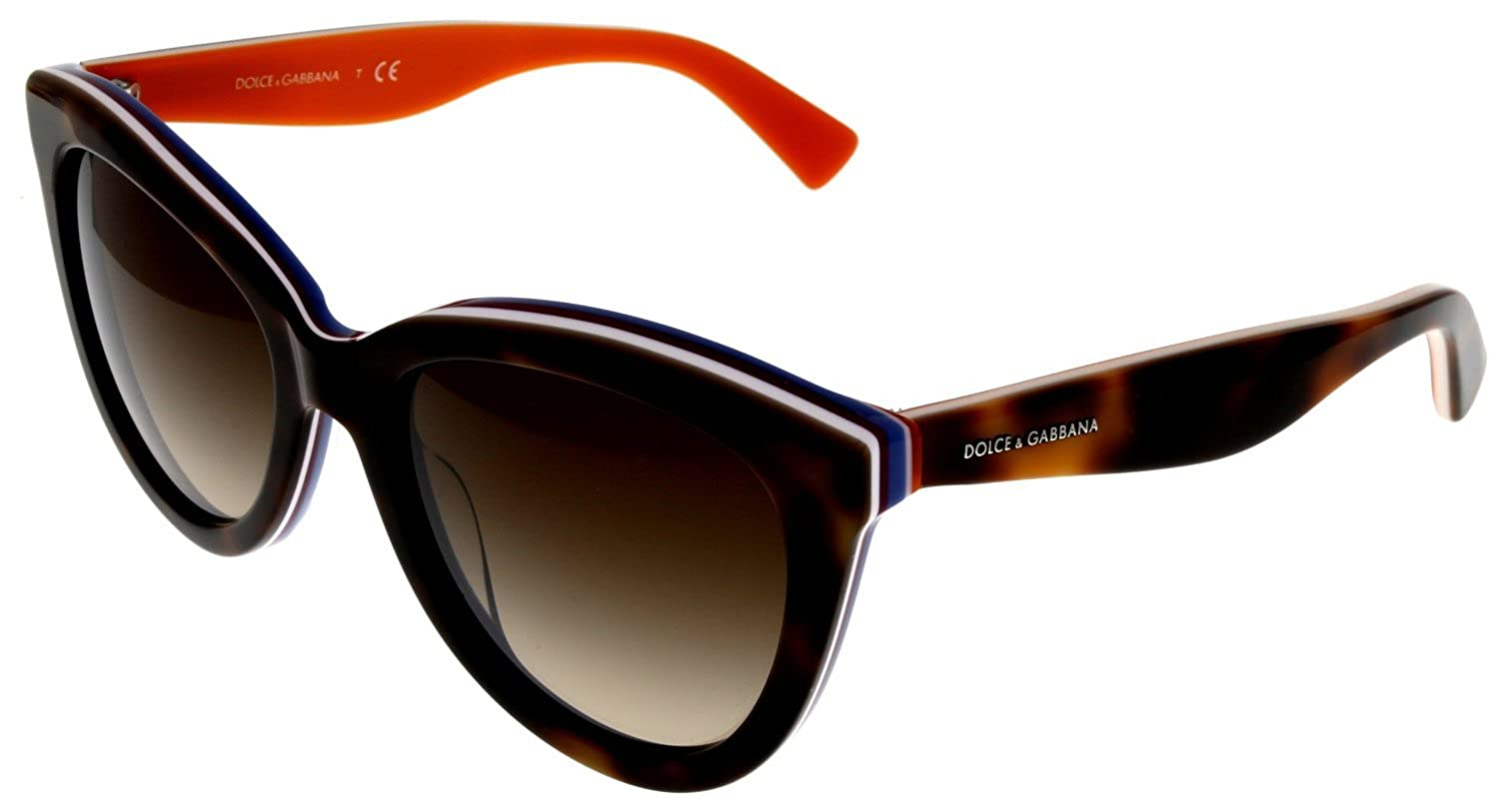 9013634cfd5 Amazon.com  Dolce   Gabbana Sunglasses Women DG4207 276513 Cat Eye  Clothing