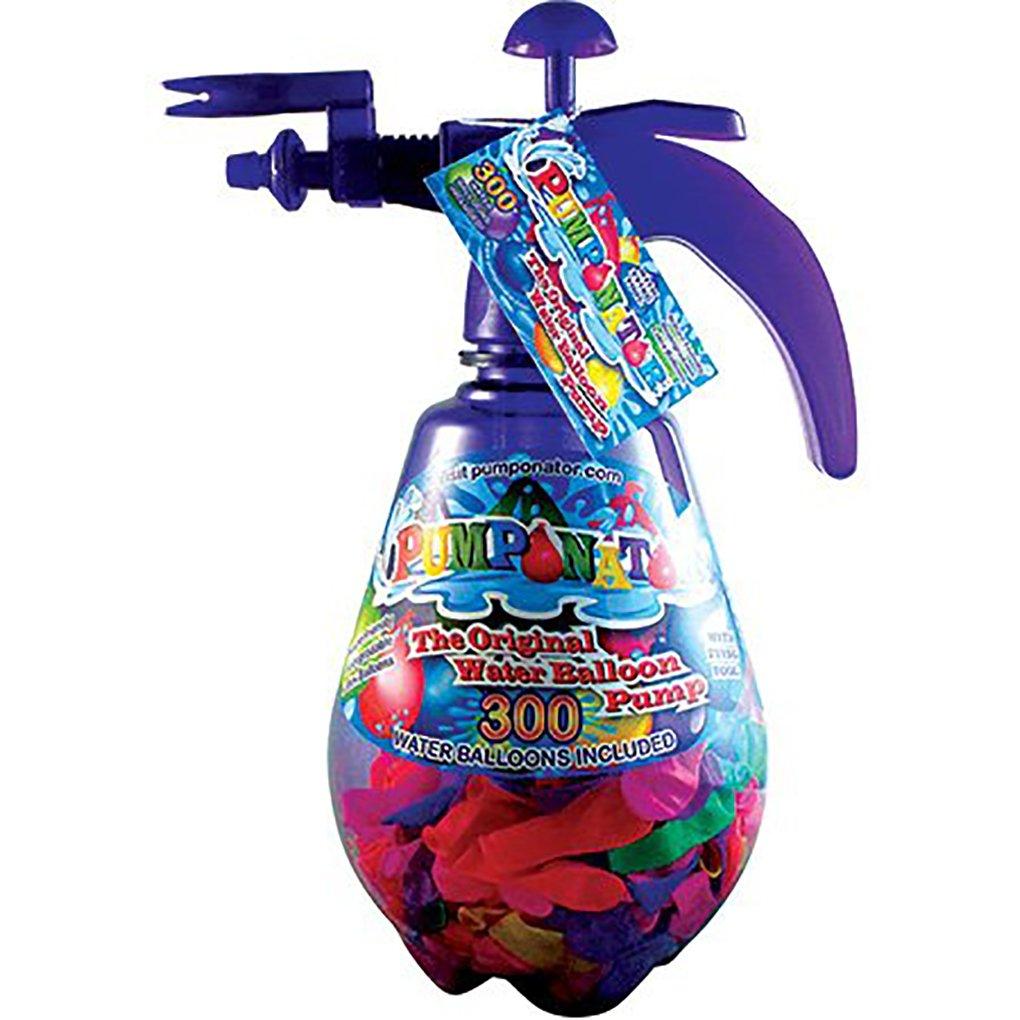 Pumponator - The Original Water Balloon Pump - Blue - Red - Pink - Purple (One Size, Purple)