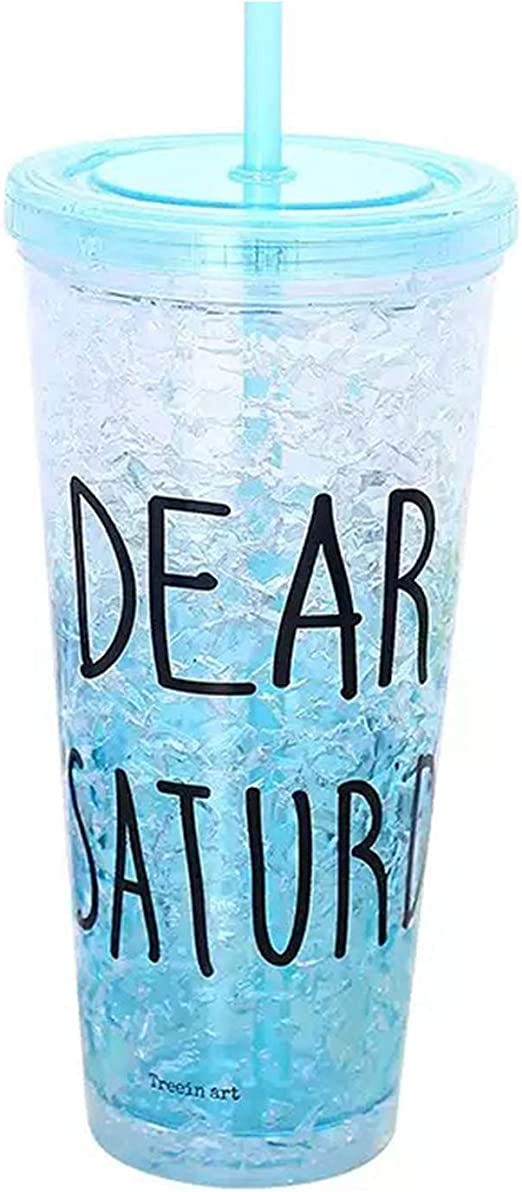 Vasos aislantes de acrílico para congelador de gel de doble pared ...