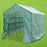 BenefitUSA Deluxe WALK-IN 3 Tier 6 Shelf Portable Greenhouse Warm Green House 8' x 6.56' x 6.9' New