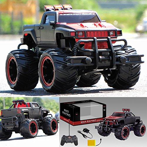 RC Ferngesteuertes Auto Pick Up Monster Truck Monstertruck inkl. Akku, Ladegerät und Funkfernsteuerung