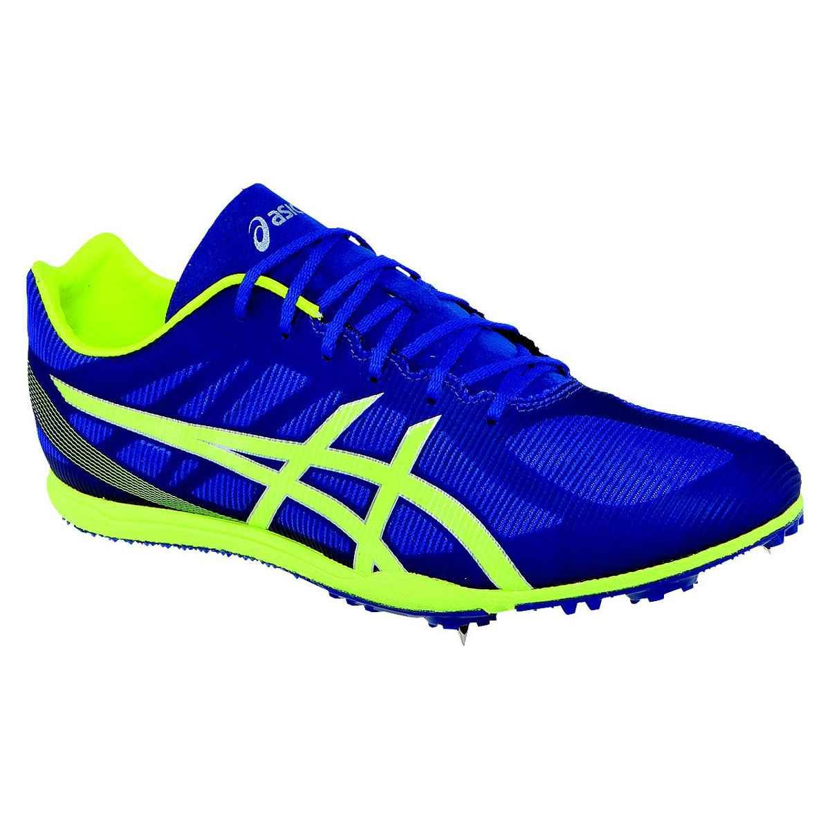ASICS Men's Heat Chaser Track And Field Shoe B00KOLCM4M 6 D(M) US|Deep Blue/Yellow