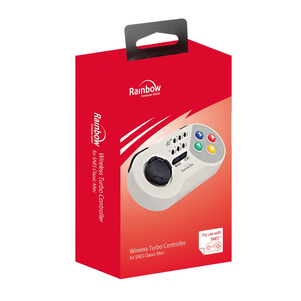 Rainbow Computer World - Wireless Turbo Controller (Nintendo Super Nes): Amazon.es: Videojuegos