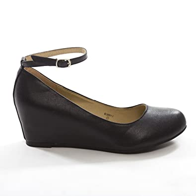 Amazon.com | V-Luxury Chase & Chloe Womens Bobby1 Closed Round Toe ...