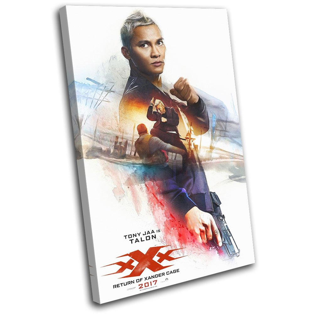 Bold Bloc Design - XXX 3 Triple X Poster Talon Movie Greats 135x90cm SINGLE  Canvas Art Print Box Framed Picture Wall Hanging - Hand Made In The UK -  Framed ...