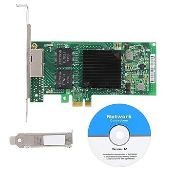 Tarjeta de Red Gigabit para Intel i350T2V2, PCI Express RJ45 ...