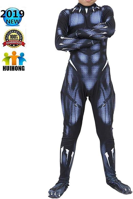 HUIHONG Hero Black Panther Disfraz De Cosplay Halloween Navidad ...