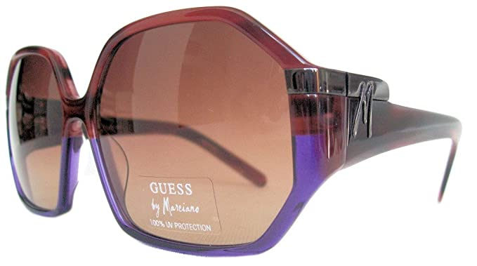 Amazon.com: anteojos de sol Guess by Marciano GM 615 bupur ...