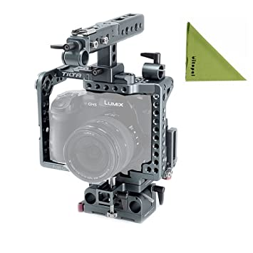Tilta es-t37 Panasonic GH4/GH5 Cámara serie jaula + lente ...