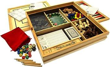 Juego de 15 juegos de dados de Compendium, juegos de mesa, juegos de cartas y más: Amazon.es: Juguetes y juegos