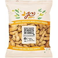 J.C.'S QUALITY FOODS Roasted Peanuts in Shell, 300 g