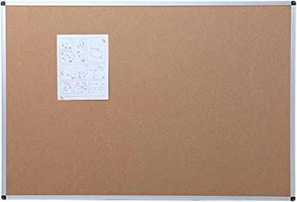 Cadre en Aluminium 120 x 90 cm VIZ-PRO Tableau daffichage en li/ège