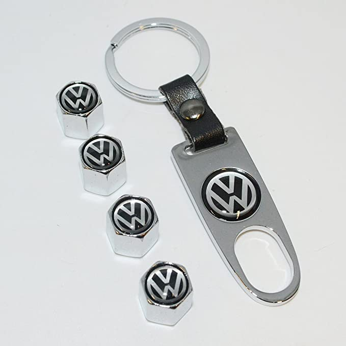 Amazon.com: us85 Volkswagen Logo Emblema Auto rueda de coche ...