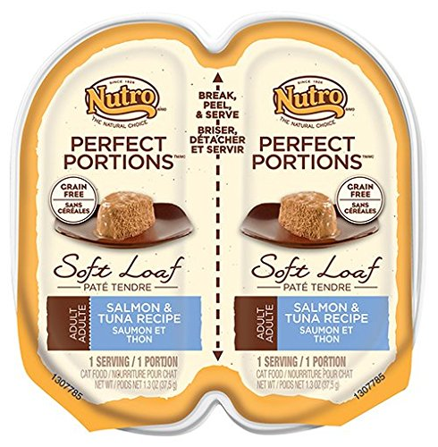 NUTRO PERFECT PORTIONS Adult Cat Soft Loaf Salmon and Tuna (Perfect Salmon)