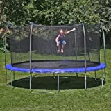 Skywalker Skywalker Trampolines 14-ft. Round Trampoline with Enclosure...