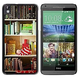 Be Good Phone Accessory // Dura Cáscara cubierta Protectora Caso Carcasa Funda de Protección para HTC DESIRE 816 // Shelf Reading Teach Library School