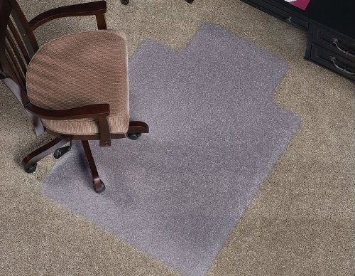Beveled Edge Vinyl Anchormat Chair Mat - 60X46