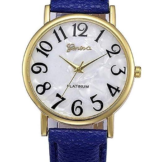 Scpink Relojes de Mujer Retro Relojes de Cuarzo de Mujer Relojes de señora de