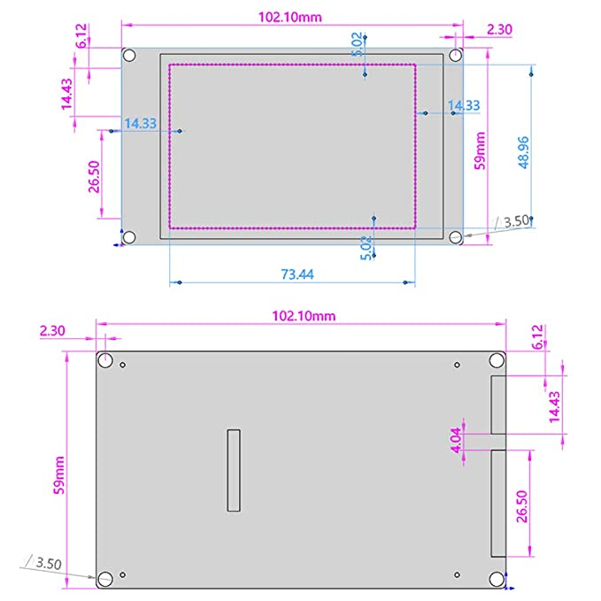 Almencla Pantalla Táctil de Código Impresora 3D Complimentos Fácil ...