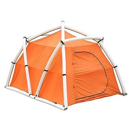 Image Unavailable  sc 1 st  Amazon.com & Amazon.com : Dioche Camping Tent Quick Inflatable 3-Person Tent ...
