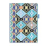FYY Case for iPad Air 2 - Premium PU Leather Case Smart Auto Wake/Sleep Cover with Hand Strap, Card Slots, Pocket for iPad Air 2 (only fit iPad Air 2) Pattern-2