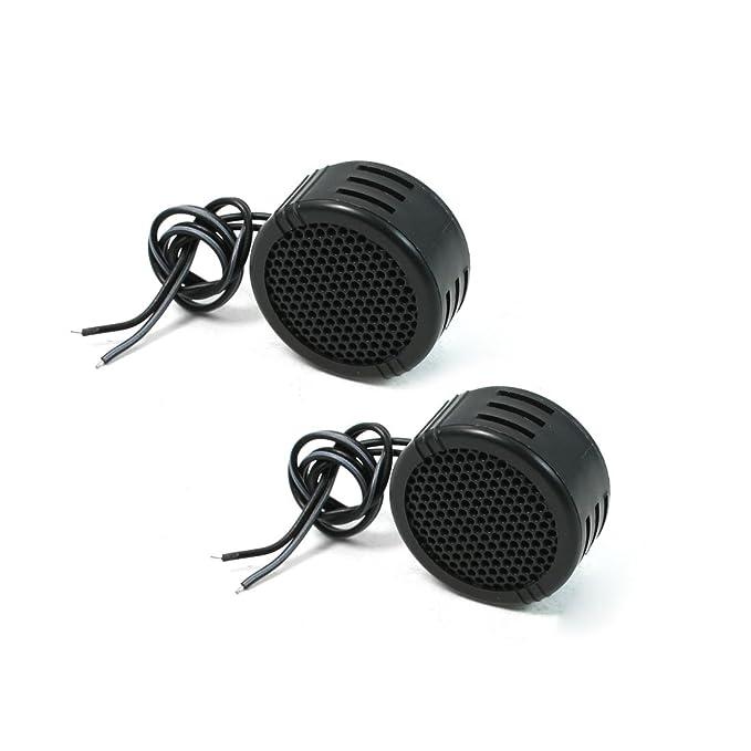 2 opinioni per sourcingmap 2, 8V 500W Incasso Plastica Tweeter A Cupola Speaker Nero 2pz per