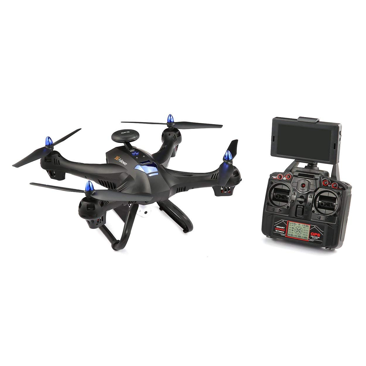 Lorenlli Ajuste Xinlin SHIYE X183 5.8G Dual GPS RC Quadcopter ...