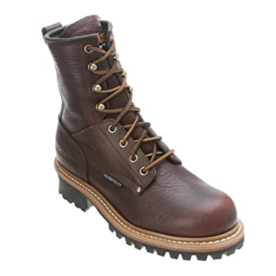 cc109967cd67 Amazon.com  Women s Carolina 8 inch Logger Boots  Shoes