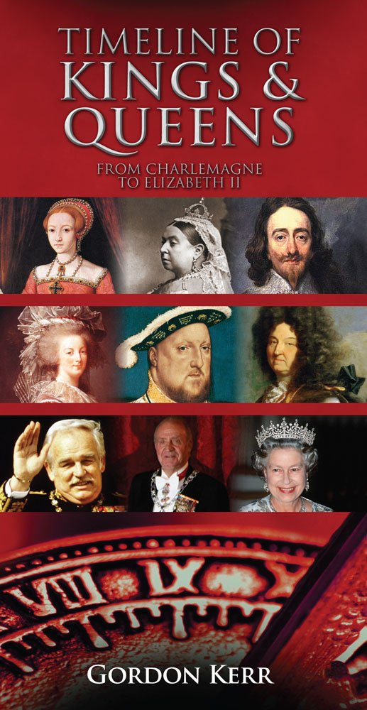 Timeline of Kings & Queens: From Charlemagne to Elizabeth II PDF