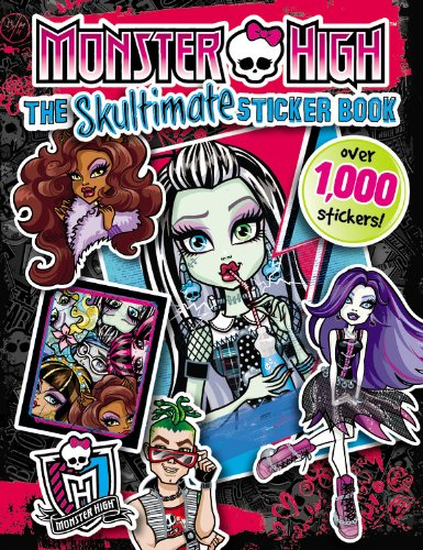Monster High:  The Skultimate Sticker Book pdf