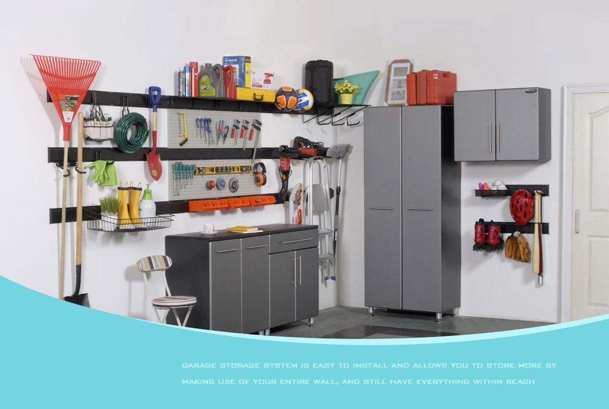 Ultrawall Garage Storage, Pegboard With Hooks Garage Storage Bins Tool  Board Panel Tool Organizer   TNDK29S12 U003c Rack Accessories U003c Tools U0026 Home  Improvement ...