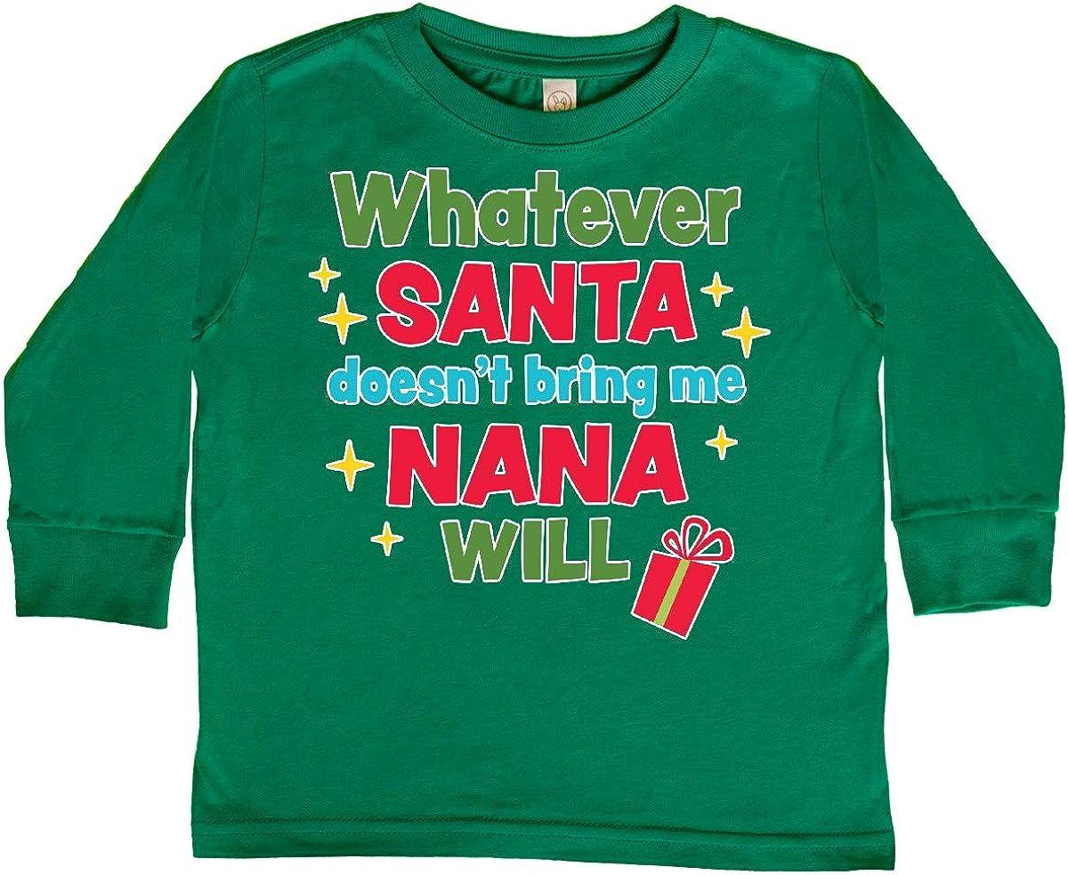 inktastic Christmas Whatever Santa Doesnt Bring Me Toddler Long Sleeve T-Shirt