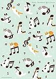 ねこ音楽ノート2(A4・12段)