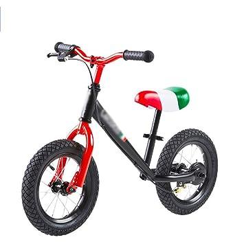DUWEN Bicicleta Infantil de Dos Ruedas sin Pedal para niños Equilibrio 2-3-6 años Coche Deslizante (Color : Red): Amazon.es: Deportes y aire libre
