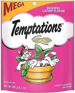 Temptations Classic Cat Treats - Blissful Catnip - 6.3 oz