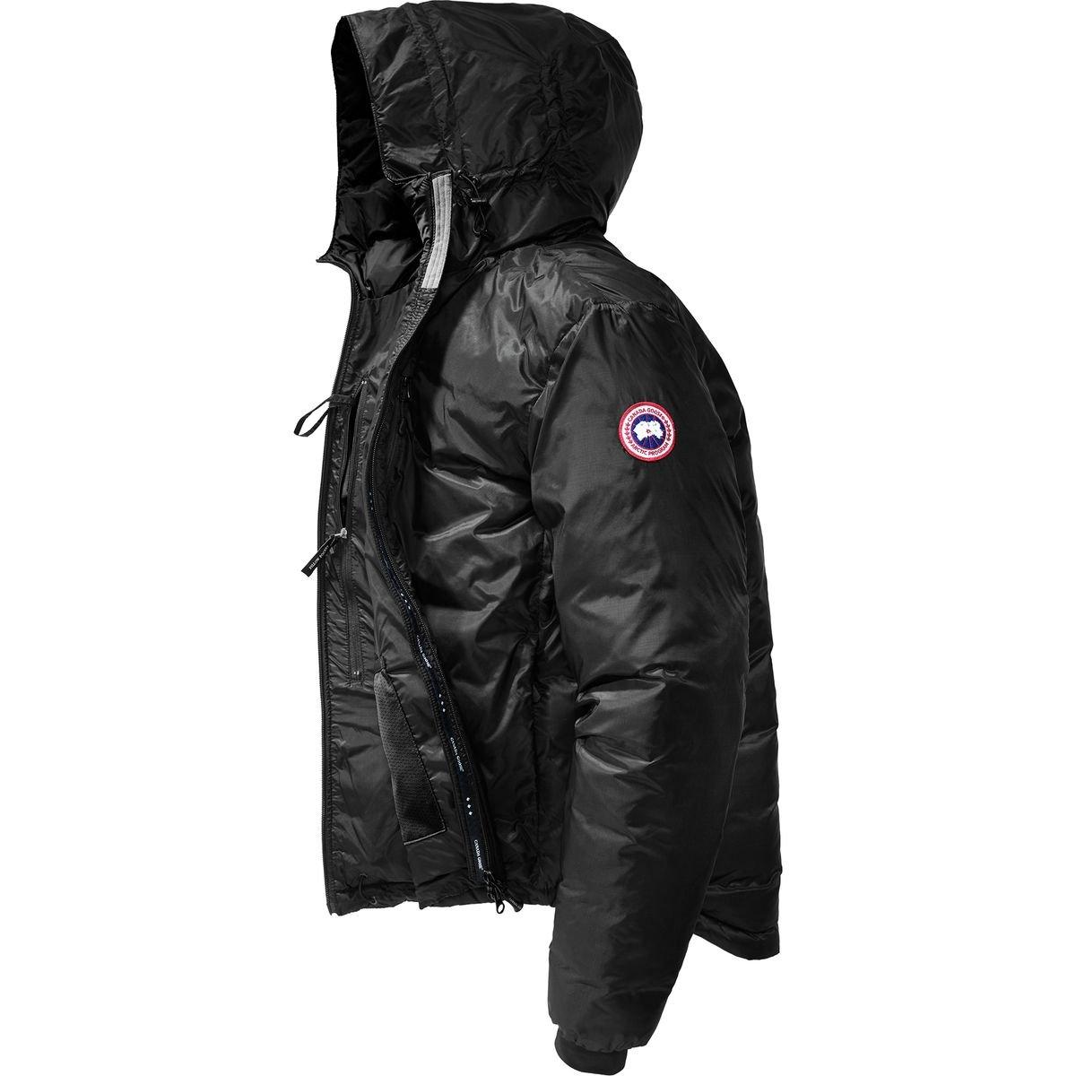 (カナダグース)Canada Goose Lodge Down Hooded Jacket メンズ ジャケットBlack/Black [並行輸入品] B077N68KBM 日本サイズ L (US M)|Black/Black Black/Black 日本サイズ L (US M)